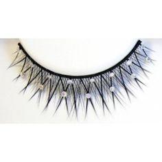 Jewelry Studded False Eyelashes