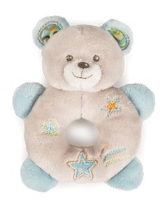 Rattle Ring Bear Soft Toy