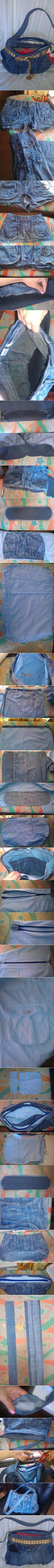 DIY Old Jeans Fashionable Bag