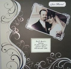 The first thing you need to know about making a scrapbook is that it isn't a complicated process at all. Scrapbooking isn't just for the 'crafty' person among Wedding Scrapbook Pages, Bridal Shower Scrapbook, Love Scrapbook, Birthday Scrapbook, Scrapbook Albums, Scrapbook Supplies, Scrapbook Cards, Scrapbook Examples, Scrapbook Page Layouts