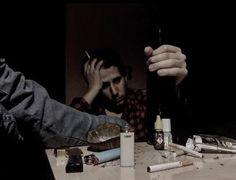 Sad, Alcool, Smoke Photo