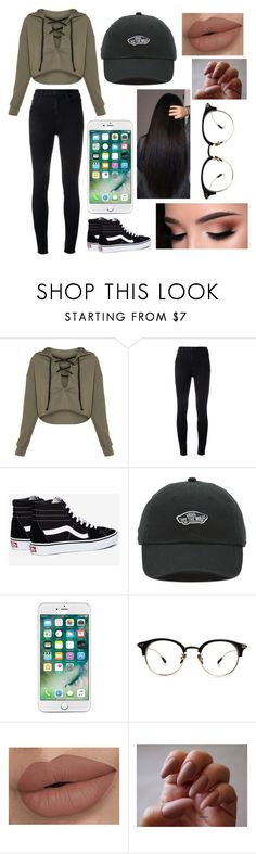 """""""Untitled #479"""" by taco-bell-love ❤ liked on Polyvore featuring J Brand and Vans"""