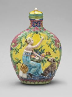 Snuff Bottle  Artist/maker unknown, Chinese  Geography: Made in China, Asia Date: 19th or early 20th century