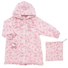 Hello Kitty raincoat (check) Sanrio online shop - official mail order site