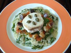 Risotto  erbette e  pescespada     Gino D'Aquino #sicilianfood  #sicilia #sicily  #italianfood