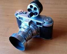 Lordomat 35mm rangefinder camera with turret viewfinder