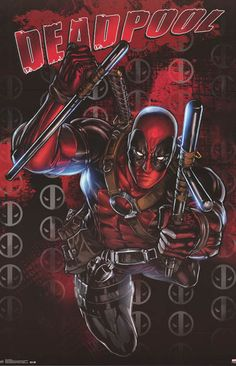 Deadpool...is he a hero or a villain? He's a little bit of both! A great action pose poster from Marvel Comics. Fully licensed. Ships fast. 22x34 inches. Check out the rest of our great selection of D