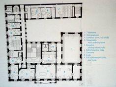 Variációktéglára Floor Plans, Flooring, How To Plan, Architecture, Palaces, Buildings, Home, Arquitetura, Palace