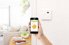 Qivivo Thermostat Connecté  Votre confort à distance - contrôlez la température de votre logement depuis votre mobile/tablette/pc Programmation aisée - s'adapte à votre rythme de vie avec ses 10 programmes et 4 températures de présence. Capteur de présence - relance le chauffage si vous rentrez plus tôt et vous prévient en cas d'absence prolongée.