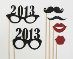 New Year Photobooth Prop Photo Booth  Photo by LittleRetreats, $16.75
