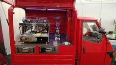 Piaggio Ape, Coffee To Go, Van, Vans, Vans Outfit