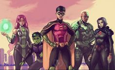 Dc Comics Girls, Dc Comics Heroes, Marvel Dc Comics, Comic Book Characters, Comic Character, Teen Titans 2, Avengers Alliance, Batman Artwork, Superhero Design