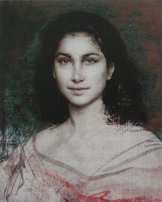 """LOVELY LADY"" Artist: Pietro Annigoni, Title Unk."