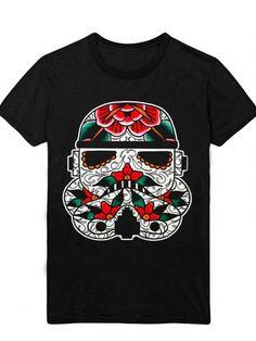 "Men's ""Stormtrooper"" Tee by Mindzai Creative (Black) #InkedShop #menswear #stormtrooper #tee #top #mensclothing #starwars"