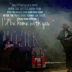 In A Week - Hozier. Such a creepy song but I love it anyway