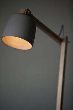 love this lamp.  vintage and modern at the same time.