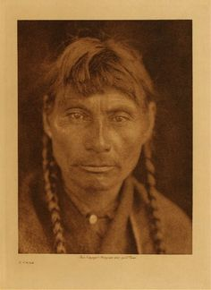A Cree man, no date or place