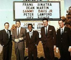 5 Things About The Rat Pack You Probably Didn't Know!    Saw this in a link this morning ~ oh, do I remember these men!  The impact they made in their chosen fields and on the world in general is amazing!!!