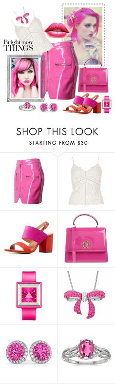 """""""She Loves Bright New Things"""" by glitterlady4 ❤ liked on Polyvore featuring WithChic, River Island, Charlotte Russe, Roberto Cavalli, Appetime, Amanda Rose Collection, Polaroid, Allurez and BillyTheTree"""