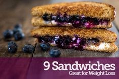 9 Delicious Slimming Sandwiches - #ReImagineDieting Sign up for more weight loss recipes like this at fullplateliving.org