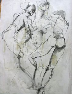 Learn how to draw the human figure in our figure drawing class! Click through image from Jylian's Sketchbook.
