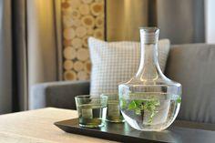 Wasserkaraffe Apartments, Big Living Rooms, Natural Materials