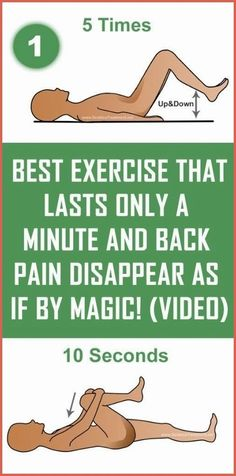 Health Tips, Health And Wellness, Health Fitness, Health Care, Fitness Workouts, Back Pain Remedies, Back Pain Exercises, Arthritis Exercises, Exercise For Back Pain