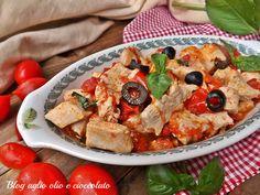pollo pomodoro e basilico-ricetta veloce