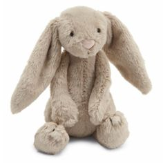 Made by Jellycat. 670983044393 Part: Item: Jellycat Bashful Beige Bunny Small Stuffed Animal Sweet as can be, our 7 inch Jellycat Bashful Beige Bunny Small is absolutely precious. Zara Home, Pet Toys, Baby Toys, Kids Toys, Stuffed Animals, Stuffed Toy, Best Baby Gifts, Jellycat, Bunny Plush