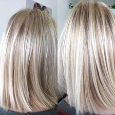 blonde hair with lowlights \ blonde hair . blonde hair with lowlights . blonde hair with dark roots . blonde hair with highlights Love Hair, Great Hair, Gorgeous Hair, Ombre Hair, Balayage Hair, Cooler Stil, Brown Blonde Hair, Blonde Straight Hair, Neutral Blonde Hair