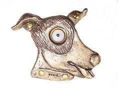 Rosalie Sherman Designs Bronze Susie Dog Doorbell Cover