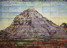 Wynne Prize Winner 2013 - 'Namatjira' by Imants Tillers