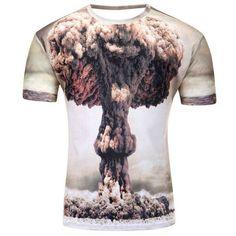 Polyester 3D T-Shirt - Nuke'em