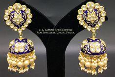 tw Diamond Stud Earring in White Gold (White) – Finest Jewelry India Jewelry, Gems Jewelry, Jewelery, Jewellery Earrings, Fine Jewelry, Jewelry Making, Urban Jewelry, Jhumki Earrings, Uncut Diamond