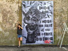 [Paris Tonkar magazine] #graffiti #streetart #urban #lifestyle: Madame moustache
