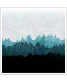 Woods Abstract VON Mareike Böhmer now on JUNIQE!