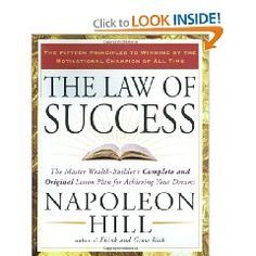 My favorite book of all time: The Law of Success - Napoleon Hill