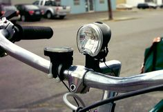"""""""Austin police officers will start handing out 1,000 free bike lights next week to cyclists caught riding at night without a light. State law requires that you have a white light on the front of your bicycle if you're riding at night, and a red reflector or light on the back."""""""