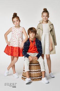 1d5dff0bc1 Arrieta, Biel & Zhenya from Sugar Kids for Carolina Herrera spring 2017.