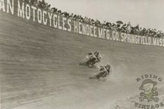 The Motordrome - Board Track Motorcycle Racing - Riding Vintage