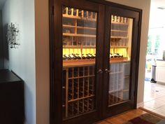 Los Angeles Designs Residential Custom Wine Cellars – Niche Transformation