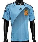 Adidas Spain National Soccer Team Away Jersey - RFEF - Light Blue  http://stores.ebay.com/Gear-House-Clearance/Shirts-Jerseys-/_i.html?_fsub=7467443018