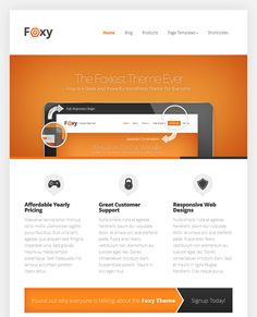 20 best 20 of the Best Responsive Professional WordPress Themes for ...
