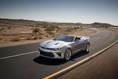 2016 Chevrolet Camaro Convertible is Lighter and More Refined