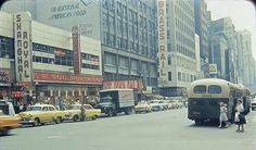 Broadway and 50th Street (1956) -photographer unknown