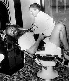 Midget Village Barber Shop - San Diego, Balboa Park, 1935