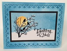 Swift Thinkin': Pretty Crayon resist card to say goodbye to winter