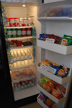 "Apartment marketing - ""I raided the fridge at Amberleigh Ridge"" branded WOW fridge"