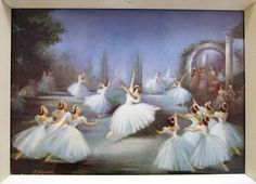 Swan Lake Carlotta Edwards - was the daughter of the French painter Ferdinand Pourrier. Abstract Pictures, Wall Art Pictures, Print Pictures, Vintage Dance, Vintage Ballet, Black Framed Art, Framed Art Prints, Swan Lake Ballet, Dance Paintings