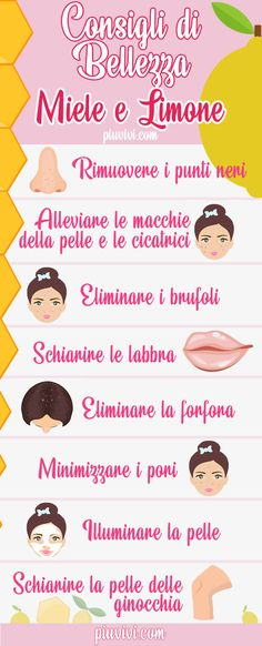 Honey and lemon: benefits and uses for health and beauty of .- Miele e limone: benefici e usi per la salute e la bellezza di pelle e capelli. Honey and lemon: benefits and uses for health and beauty of skin and hair. Beauty Care, Diy Beauty, Beauty Skin, Health And Beauty, Beauty Hacks, Beauty Ideas, Homemade Beauty, Healthy Beauty, Face Beauty